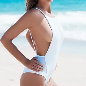 Other - White swimming suite one piece sw202
